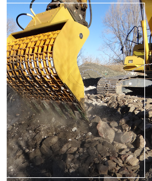 Excavation Attachment Bucket